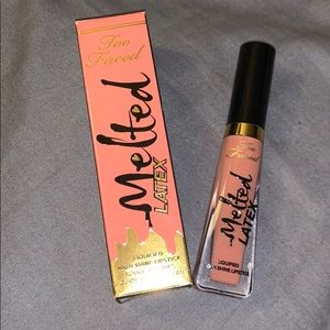 Too faced melted latex liquid lipstick NWT